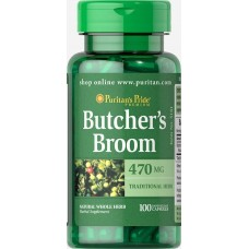 Мінерали Puritan's Pride Butcher's Broom 470 мг 100 капсул