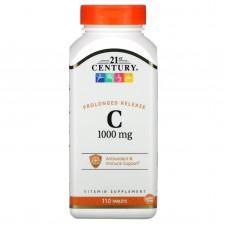 Вітаміни 21st Century C-1000 Prolonged Release 110 таблеток