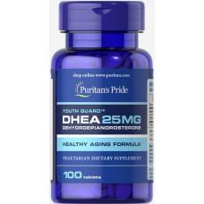 Спеціальний продукт Puritan's Pride DHEA 25 mg 100 таблеток