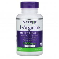 Харчова добавка Natrol L-Arginine 3000 mg 90 таблеток