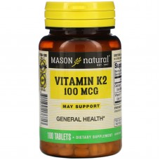 Вітамін К2 Mason Natural 100 мкг 100 таблеток
