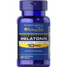 Спеціальний продукт Puritan's Pride Melatonin 10 mg 60 капсул