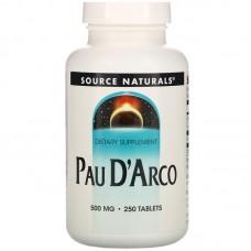 Вітаміни Puritan's Pride Pau D'Arco 500мг для поднятия иммунитета