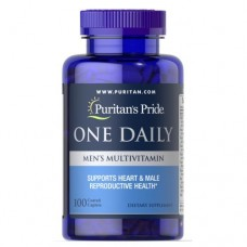 Вітаміни Puritan's Pride One Daily Men's Multivitamin 100 таблеток