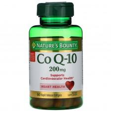 Коензим Nature's Bounty Co Q 10 Co-enzyme 200 mg 80 гелевых капсул