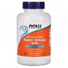 Супер Омега подвійна сила Now Foods (Super Omega EPA) 120 капсул