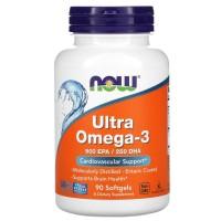 Ультра Омега-3 Now Foods (Ultra Omega-3 500 EPA / 250 DHA) 90 капсул