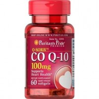 Коензим Puritan's Prid Q-SORB Со Q-10, 100 mg 60 капсул