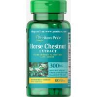 Puritan's Pride Horse Chestnut Standardized Extract 300 mg 100 Caplets